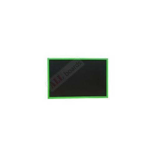 Tablica czarna kredowa w ramie drewnianej kolorowej 60x40 cm - zielona