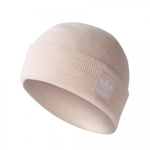 Adidas originals logo beanie czapka icepink/white