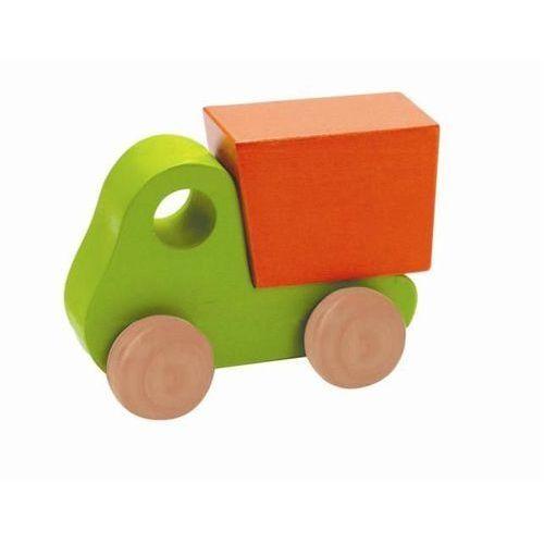 Educo / hape Drewniana miniciężarówka zielona educo 10m+