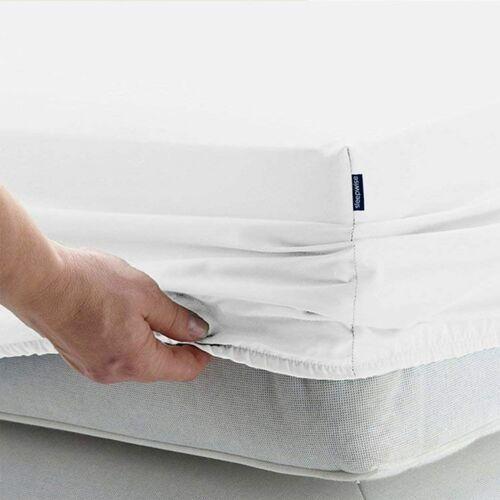 Sleepwise soft wonder-edition, prześcieradło z gumką, 180–200 x 200 cm, mikrofibra (0710535489699)