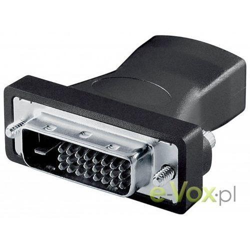 Adapter AV Goobay HDMI (F) na DVI-D (M) (68482) Szybka dostawa! Darmowy odbiór w 20 miastach! z kategorii Pozostałe RTV