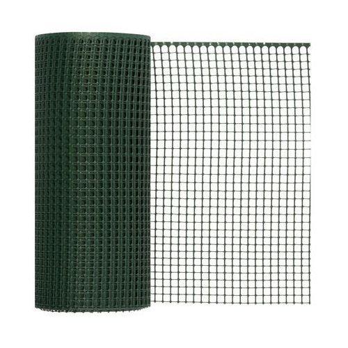 Siatka plastikowa 0.6 x 50 m zielona