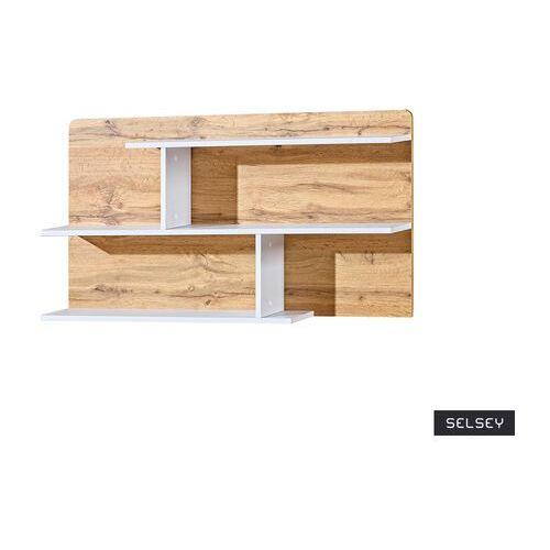 Selsey półka na książki dobie 110 cm dąb wotan (5903025586472)