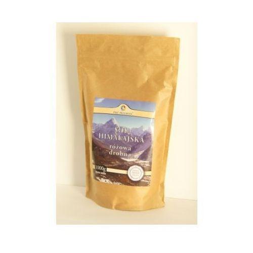Sól himalajska różowa drobna 1 kg Pięć Przemian