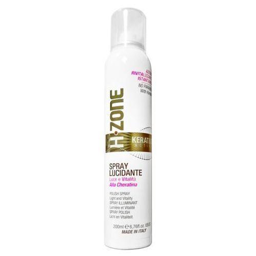 h-zone keratine active lucidante spray nabłyszczający do włosów z keratyną 200ml marki Renee blanche