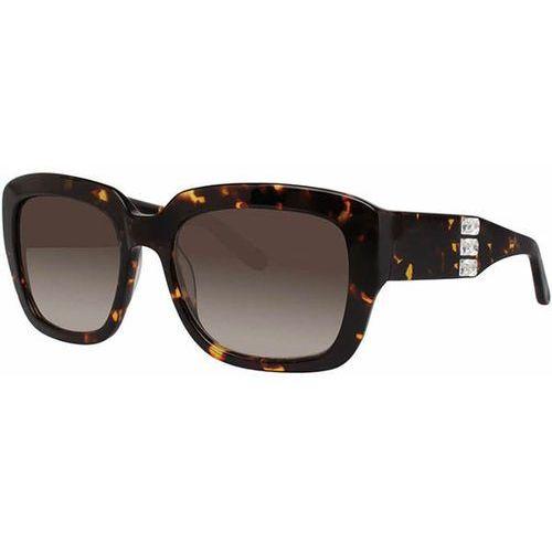 Vera wang Okulary słoneczne ciosa tortoise