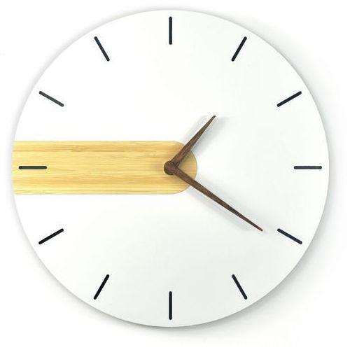 Zegar wiszący nord line drewniany marki Woodwaycrafts