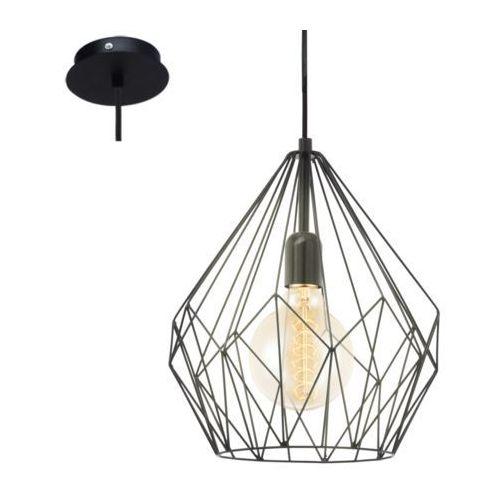 49257 - lampa wisząca vintage 1xe27/60w/230v marki Eglo