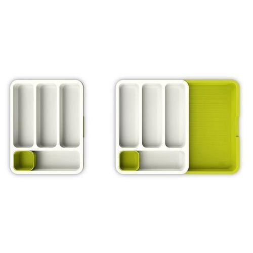 Wkład do szuflady na sztućce joseph joseph biało-zielony (85041) (5028420850413)