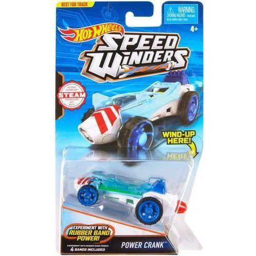 Hot wheels Autonakręciak i samochodziki, power crank (0887961312942)