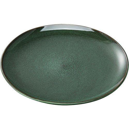 Talerz płytki porcelanowy - zielony