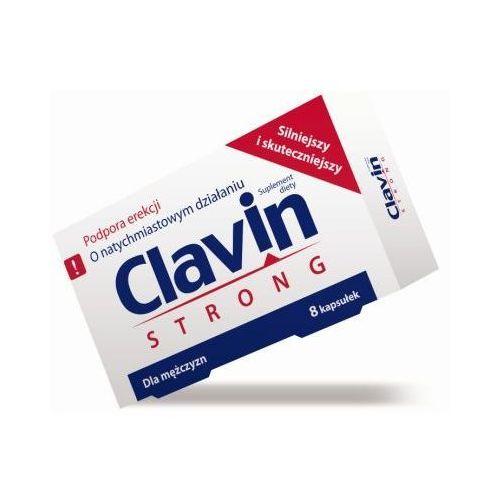 Clavin STRONG - jeszcze silniejszy 8 kaps.. Tanie oferty ze sklepów i opinie.