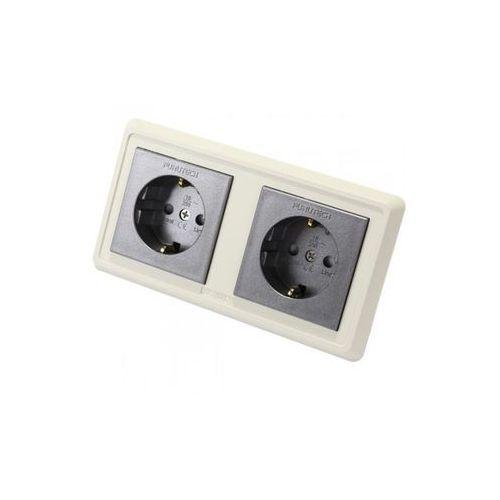 Furutech fp-sws-d (g) - pozłacane \ podwójne (duplex) (4582237533552)