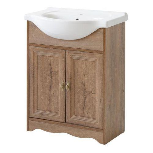 Szafka łazienkowa stojąca 65 cm pod umywalkę, deco marki Comad