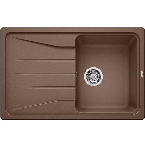 Zlewozmywak BLANCO SONA 45S MUSZKAT (korek manualny) (521921), kolor brązowy
