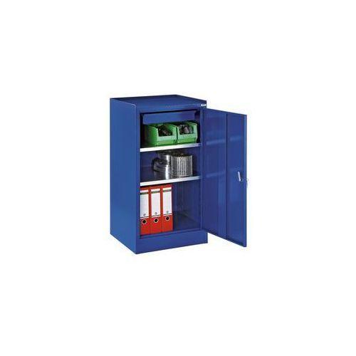 Szafa na narzędzia,z 1 szufladą, 2 półki, wys. x szer. x gł. 1000 x 500 x 500 mm marki Quipo