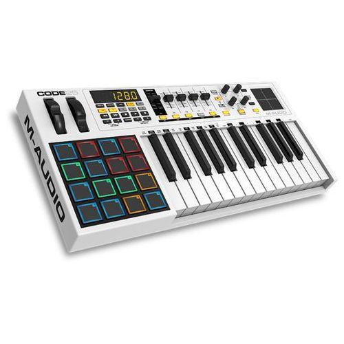 M-Audio CODE 25 - klawiatura sterująca z kategorii Klawiatury sterujące, MIDI