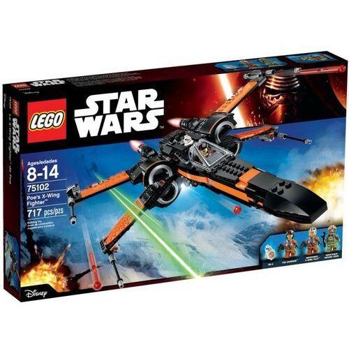 75102 Poe's X-Wing Fighter KLOCKI LEGO STAR WARS