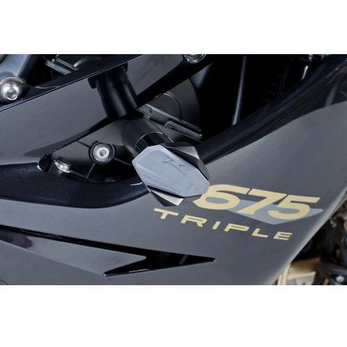 Puig Crash pady  do triumph daytona 675 06-12 / street triple 08-12 (czarne)