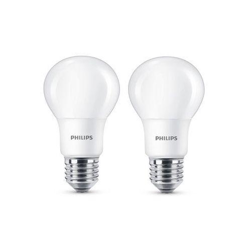 Philips Żarówka led 60w a60 e27 ciepły biały (2-pak)
