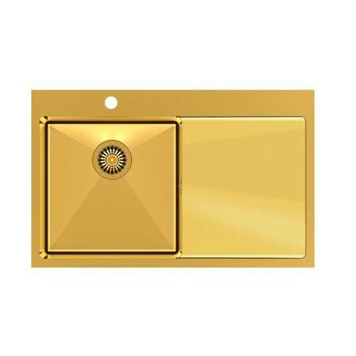 Zlewozmywak QUADRON RUSSEL 111 SteelQ PVD Złoty (5903242531194)