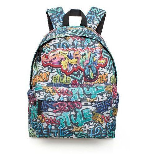 J.M. Inacio Plecak młodzieżowy Graffiti Eastwick (11731) Darmowy odbiór w 21 miastach! (5607372117319)