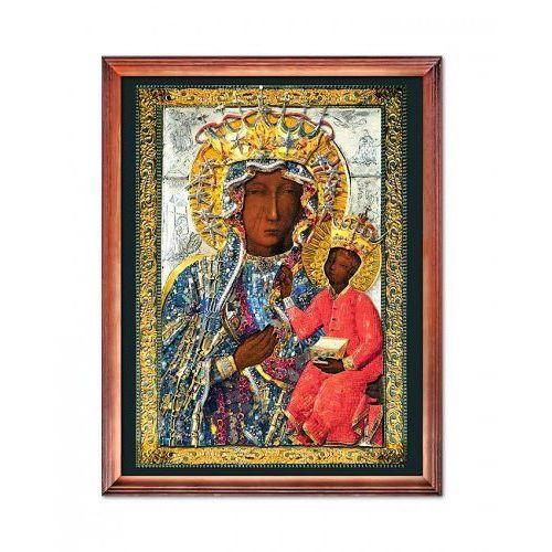 Produkt polski Cudowny obraz matki bożej jasnogórskiej w sukience wdzięczności narodu polskiego