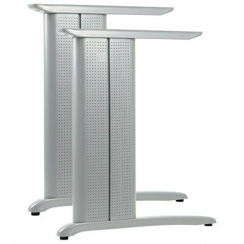 Stelaż metalowy biurka CD-A - kolor aluminium, CDA/72/58