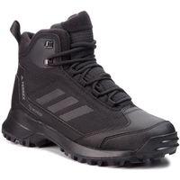 Buty - terrex heron mid cw cp ac7841 cblack/cblack/grefou marki Adidas