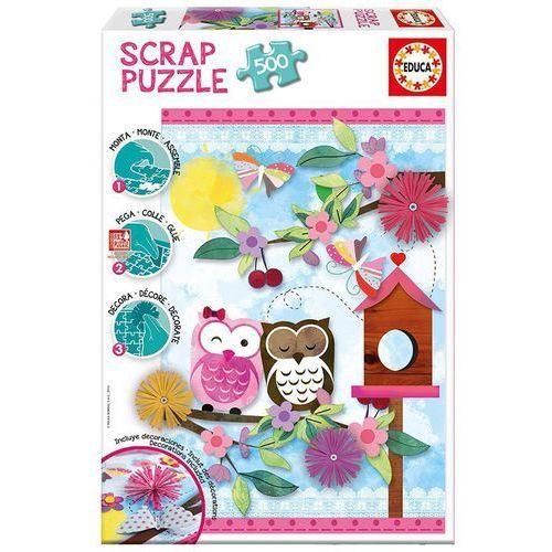 EDUCA 500 EL.Scrap Puzzle, Valentine Art