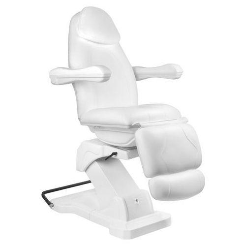 Activ Fotel kosmetyczny elektr. basic 161 obrotowy biały