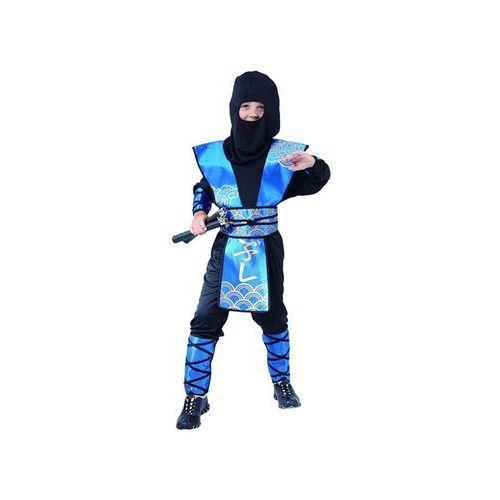 Go Kostium ninja niebieski - m - 120/130 cm