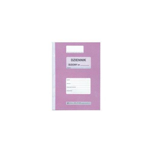 Dziennik budowy samokopiujący 8 kartek [Pu/Pb-51], 47479