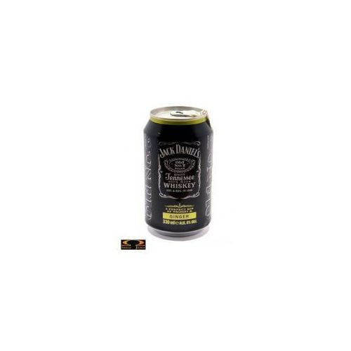 Jack daniel distillery Jack daniel's ginger 0,33l 6% (5099873009895)