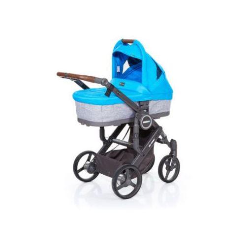 Abc design wózek dziecięcy mamba plus graphite grey-water, stelaż cloud / siedzisko graphite grey