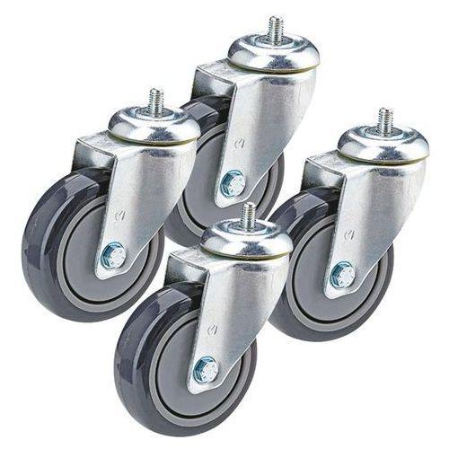 Ogumienie termoplastyczne, oferta w zestawie, 4 x rolka skrętna z trzpieniem gwi marki Proroll