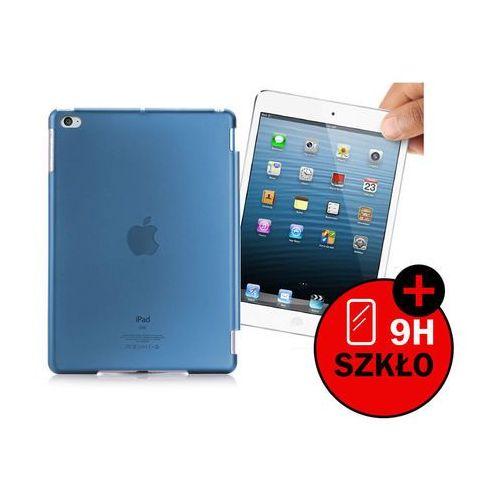 Przezroczyste etui back cover do apple ipad mini 4 - niebieski marki 4kom.pl