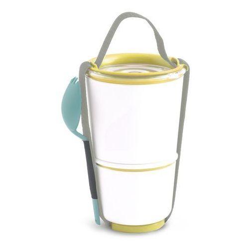 Pojemnik na lunch Lunch Pot żółto-niebieski, BP012