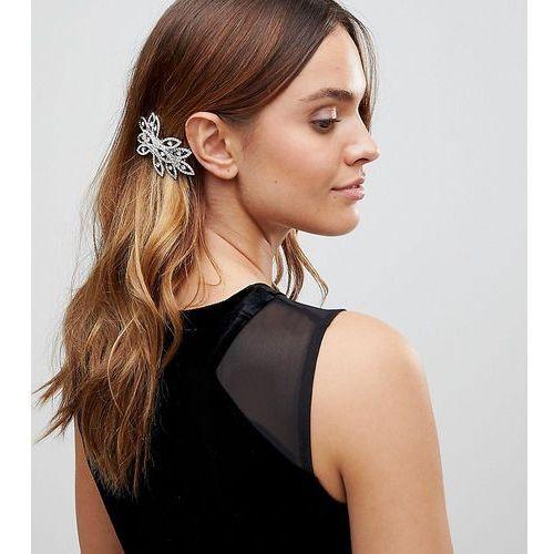 diamante hair comb - silver marki True decadence