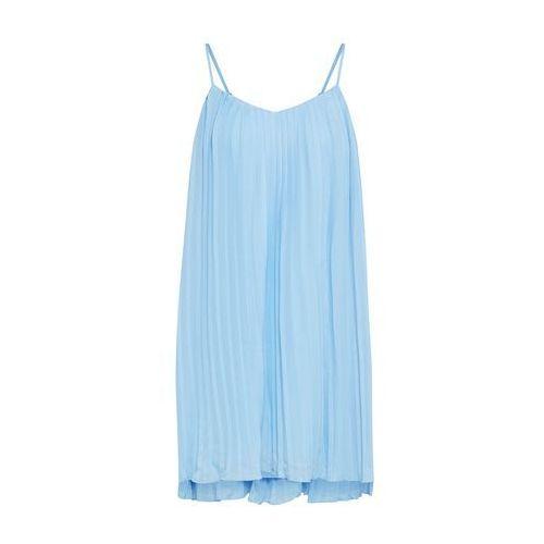 Missguided Letnia sukienka jasnoniebieski, kolor niebieski