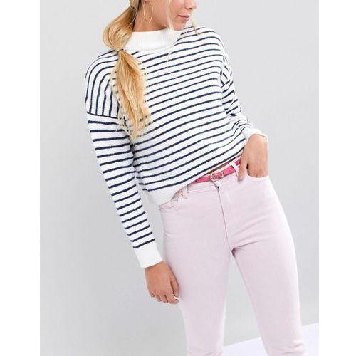 design skinny waist & hip belt in patent colour pop - pink marki Asos