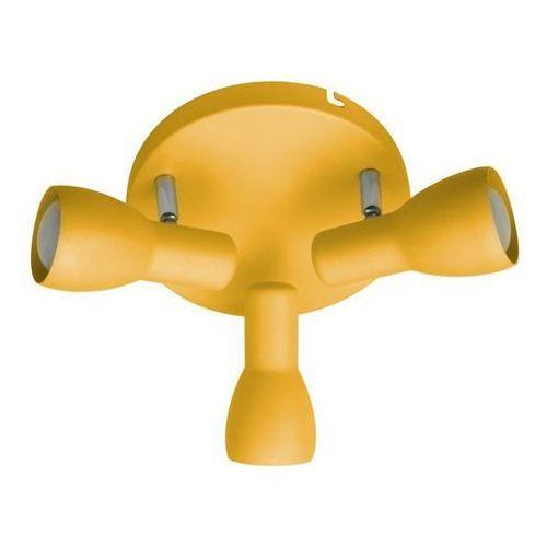 Plafon lampa oprawa sufitowa picardo 3x40w e14 musztardowy 98-52414 marki Candellux