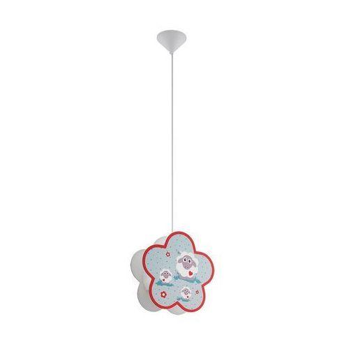 Eglo Lampa wisząca lalelu 97706 sufitowa dziecięca 1x60w e27 wielobarwna (9002759977061)