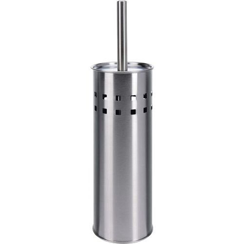 4-home Zestaw wc tube, srebrny (8711295491399)