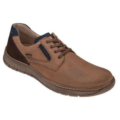Półbuty buty JOSEF SEIBEL 13857 Brązowe Jonas, kolor brązowy