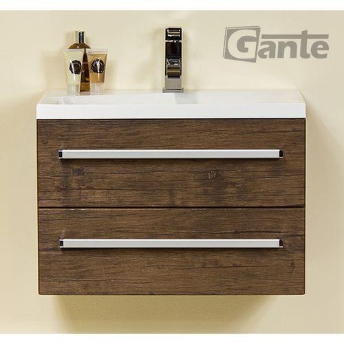 Szafka wisząca z umywalką 60/39/2/6039 seria fokus ad marki Gante