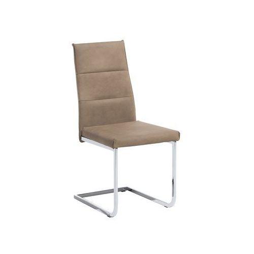 Krzesło do jadalni beżowe rockford marki Beliani