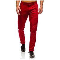 Black rock Spodnie chinosy męskie czerwone denley 0204