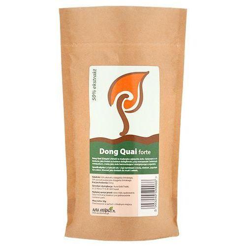 Dong quai forte dzięgiel chiński 50% ekstrakt 50g marki Aura glob