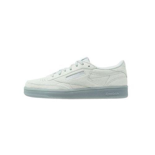 Reebok classic club c 85 lace tenisówki i trampki seaside grey/white